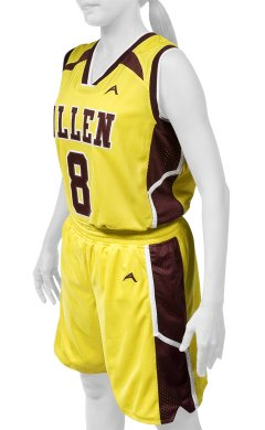 a80b47043264 Allen Sportswear Youth and Women s Basketball Uniforms
