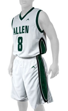 261a03cef661 Allen Sportswear Adult and Youth Custom Reversible Basketball Uniforms